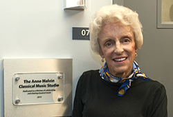 Anne Melvin: Committed to Classical Music and the Arts